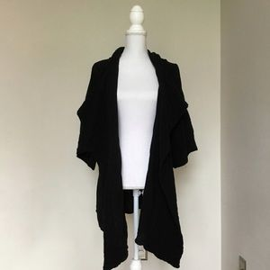 Oh My Gauze Black Jacket Cardigan Size 2